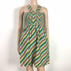 💋 Brooklyn Industries Dress Smocked Sleeveless